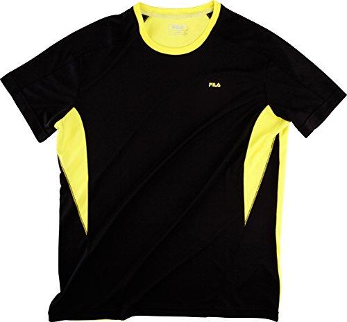 Fila Herren T-Shirt Taurus Men Schwarz