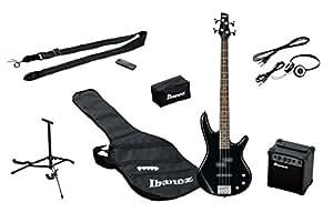 Ibanez IJSR190-BK Jumpstart Pack avec Amplificateur/Casque/Support Noir