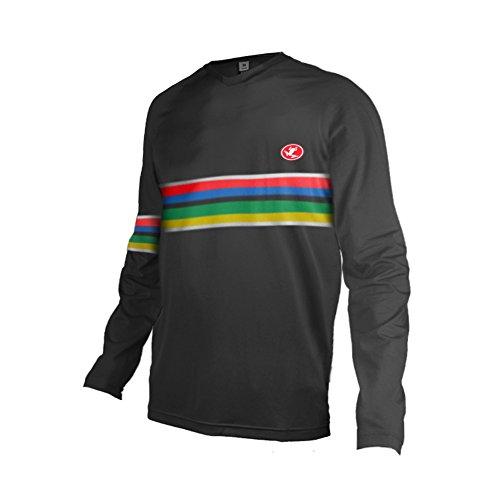 Uglyfrog Inverno Caldo Vello Jersey Downhill Maglia Moto Enduro Offroad Abbigliamento Maglia da Ciclismo