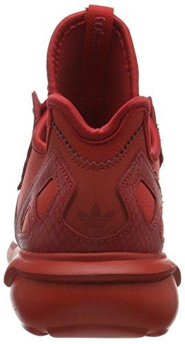 adidas Damen Tubular Runner Laufschuhe Rot (Lush Red/Lush Red/Ftwr White)