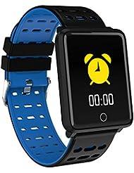 EisEyen Smart Band - Pulsera de Monitor de Color, frecuencia cardíaca, tensiómetro, GPS