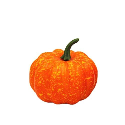 FEITONG Halloween Künstliche Kürbis Lebensechte Stützen Garten Dekorationen (1PC, (Kostüme Für Teenager Mädchen Holloween)