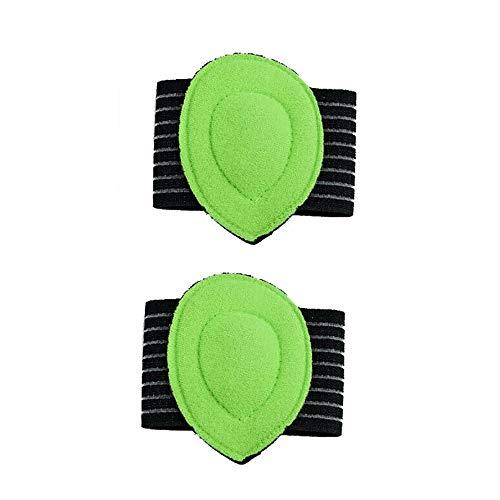 2 Paar Fußgewölbestütze Plantar Cushion Fasciitis Aid Fallen Ferse Schmerzlinderung, Flat Feet Einlagen, Plantar Einlegesohlen -