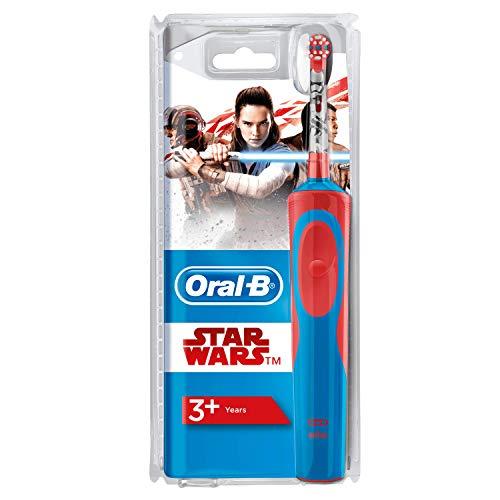 Oral-B Stages Power Kids - Cepillo Eléctrico Recargable para Niños con Personajes de Star Wars de Disney, 1 Mango, Cabezal de Recambio x 1