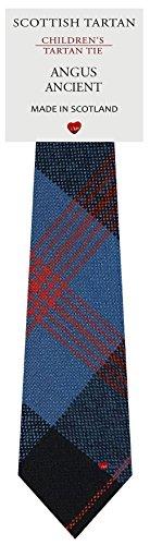 I Luv Ltd Garçon Tout Cravate en Laine Tissé et Fabriqué en Ecosse à Angus Ancient Tartan