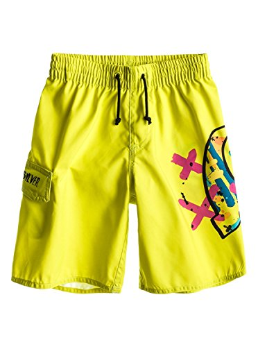 Quiksilver - Bañador, January, Niño, Color: Amarillo, Talla: 7