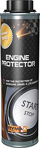 Rymax Motor Protect Öl Additiv - MoS2 - Verhindert Motorschaden & Ölverdünnung | Kämpft Reibung...