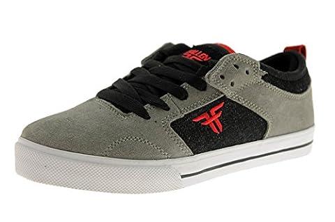 Fallen Clipper grey/black/red Kids Shoes Size US