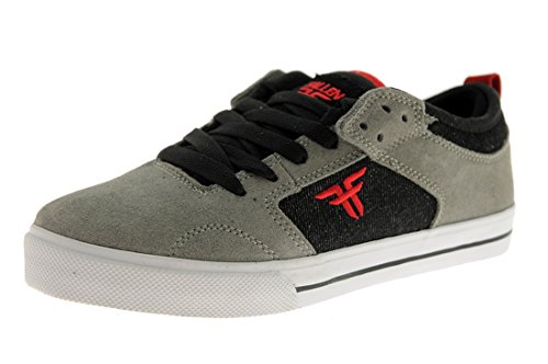 fallen-clipper-grey-black-red-kids-shoes-size-us-5