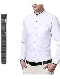 Galinpo Belt Shirt Stays Adjustable Non Slip Wrinkle Belt Elastic Invisibleshirt Stay Keeper for Man Formal