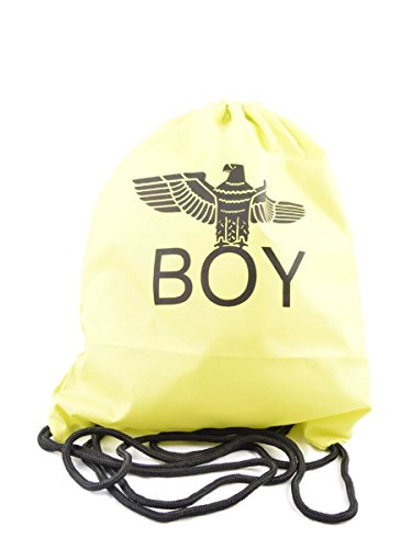 Boy London, Borsa A Spalla Da Uomo Taglia Unica Verde Lime