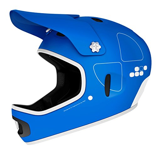 POC Cortex Flow Unisex Radhelm, Krypton Blue, L-XL (58 - 60 cm)