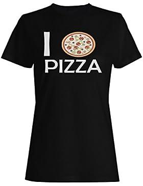 Me encanta Pizza - Pizza Lovers Novedad camiseta de las mujeres gg66f