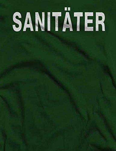 Sanitäter T-Shirt S-XXL 12 Farben / Colours Dunkel Grün