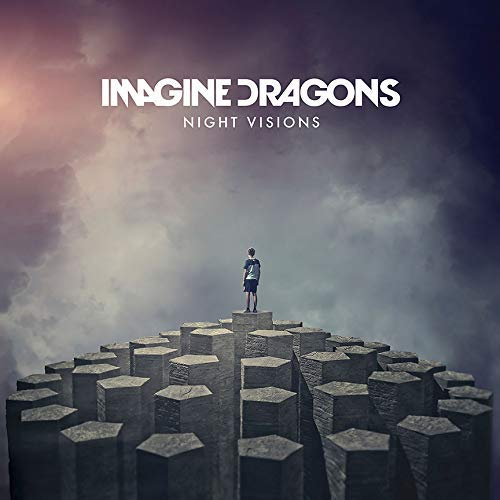 chronical collection Album Cover Poster Thick Imagine Dragons: Night Visions Music 2018 Giclée-Schallplatte LP Reprint #'d/100!! 12 x 12 cm - 100 Night Vision