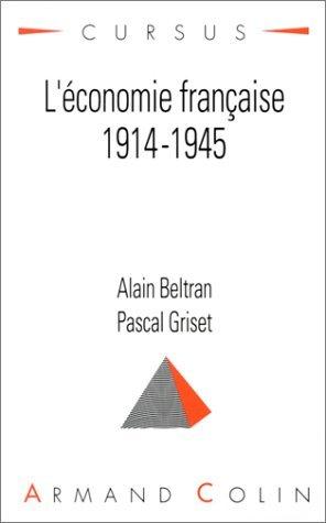L'économie française, 1914-1945