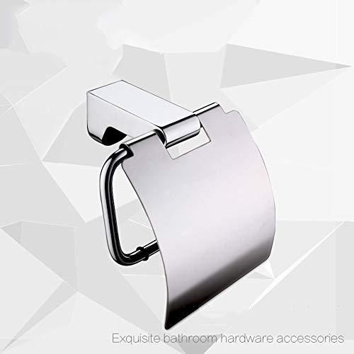 DUKKl Moderner Minimalistischer Hotel-Technik-Rollenhalter-Kupferlegierungs-Toilettenpapierhalter-Badezimmer-Hardware-HäNgender Toilettenpapierhalter