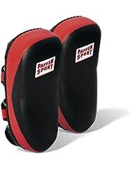 Paffen Sport Coussin Thaï ULTRA PRO – Paire (2 Pièce) pour exercices de frappe et les coups de pied ciblé