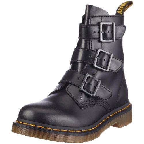 Dr. Martens BLAKE Buckle Boot, Stivali donna, Nero (Noir - V.9), 37