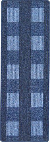 Andiamo 1100133 Teppich Dalia, 67 x 200 cm , blau