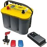 Truma Mover Batterie Set Optima® YTS 55 Ah + Truma BC 10 + Trennschalter