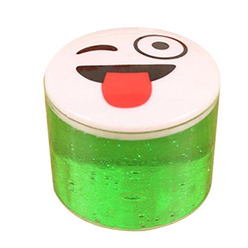 Kostüm Piraten Diy (Xshuai 3,5 * 4,5 cm Ton Slime DIY Kristall Schlamm Spielen Transparent Magie Plasticine stressabbau Kid Spielzeug)