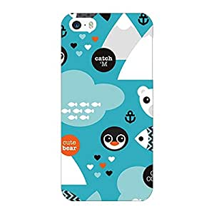 Jugaaduu Winter Pattern Back Cover Case For Apple iPhone 5S