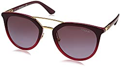 Vogue Gradient Phantos Womens Sunglasses - (0VO5164S25578H52|52|Violet Gradient Color)