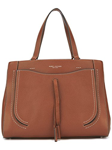 Marc-Jacobs-Womens-M0009543206-Brown-Leather-Handbag