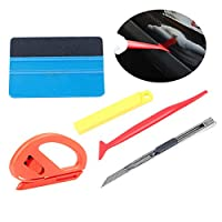 AHGAHG 5x Pro Car Vinyl Wrapping Tools for Window Glass Tint Tuck Gasket Cutter UK