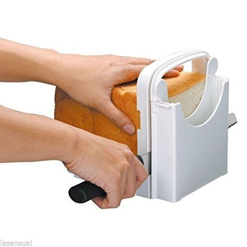 Bread Loaf Slicer with Guiding Tool