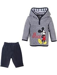 DISNEY Niños Mickey Mouse Conjunto, gris vigore claro