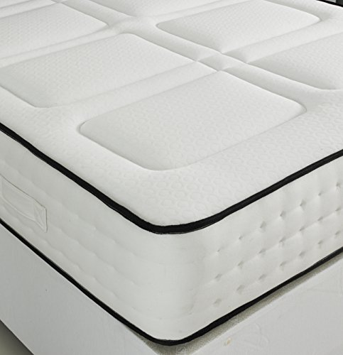 LUXURY MEMORY FOAM 1500 POCKET SPRUNG MATTRESS (3ft Single)