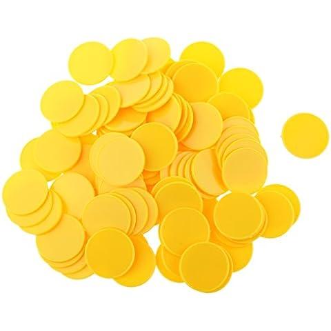 100pcs Casino Poker Chips Scacchiera Giochi Da