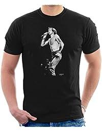 Dick Barnatt Official Photography - ACDC Bon Scott Men's T-Shirt