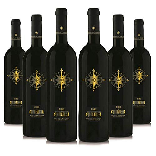 Vignoble (6 x 750ml) Bio edel Weißwein trocken | Sortenrein Muscat d'Alexandrie | Aus kontrolliert biologischem Landbau auf vulkanischem Boden | Premium Qualität