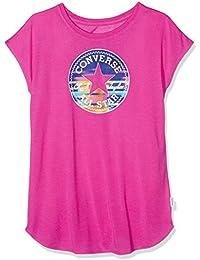 Converse Girl's Printed Chuck Patch Tee T-Shirt