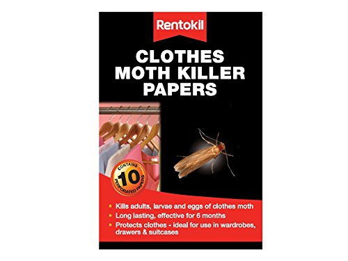 Papiers antimites - lot de 10