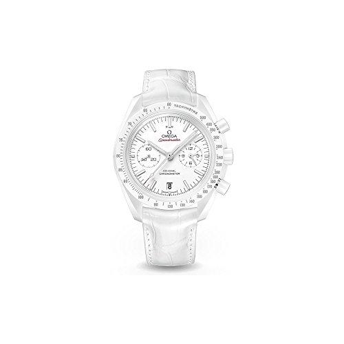 Omega Speedmaster Moonwatch Blanco Lado de la Luna para Hombre Reloj 31193445104002