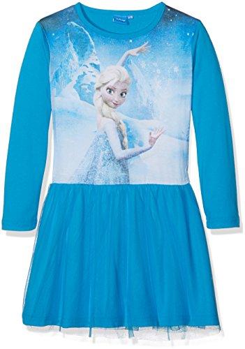Frozen Mädchen Kleid Gr. 3 Jahre, Blau (Blue)