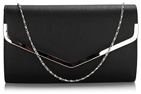 Ladies Women's Fashion Designer Celebrity Gorgeous Quality Faux Leather Flap