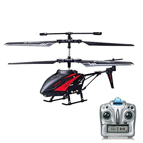 GoStock RC Helikopter Hubschrauber Ferngesteuert 3,5 Kanal mit Gyro Ferngesteuerter Spielzeug Flugzeug für Kinder Indoor Outdoor