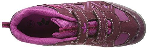 Lico Kolibri Vh, Baskets Basses Pour Femme Rouge (bordeaux Bordeaux)