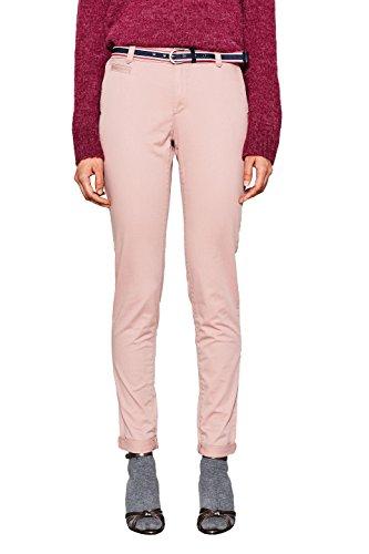 ESPRIT Damen Hose 998EE1B801, Rosa (Old Pink 680), 34 (Herstellergröße: 34/32)