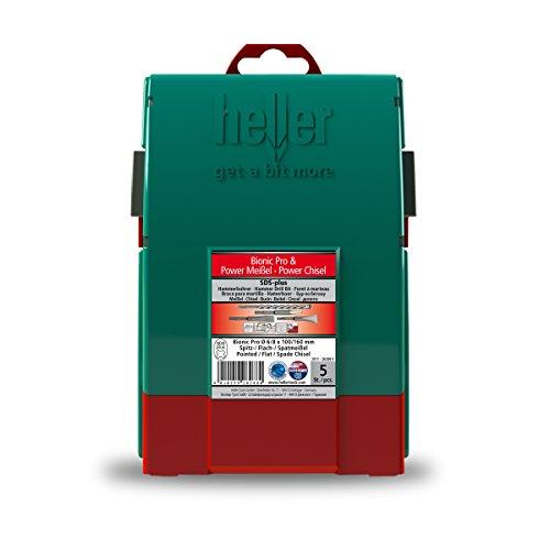 Heller Tools Bionic Pro SDS plus und Power Meißel Set 5-teilig, 2011-26288