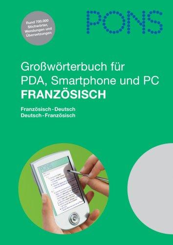 PONS Großwörterbuch Französisch (PC+PDA)