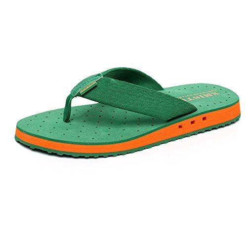 Antiscivolo Dei Cn43 Pizzico Spessi Dimensioni 5 Ciabatte Inferiori Estive Sandali 1 Traspirante Uk8 3 colore Da Spiaggia Uomini Eu42 xYqEx5Tw