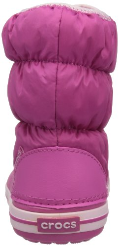 Crocs Puff 14613 Unisex - Kinder Schneestiefel Pink (Fuchsia/Bubblegum)