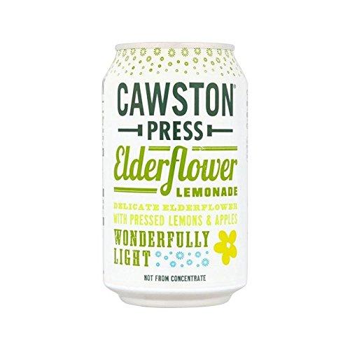 Cawston Presse Sureau Pétillant Limonade 330Ml (Paquet de 2)