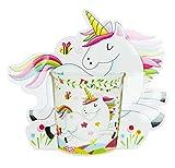 DISOK - Taza de Unicornio, presentada en bolsita de Regalo. Taza Original de niñas...